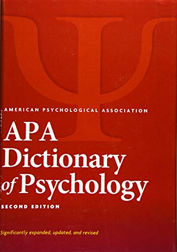 9781433819445: APA Dictionary of Psychology