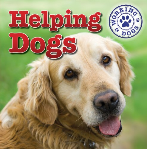 Helping Dogs 9781433946523 Discusses the use of dogs in therapy and as aides for the handicapped, the breeds suitable for such work, and training.