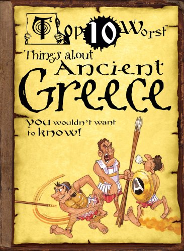 Top 10 Worst Things About Ancient Greece: Victoria England, David