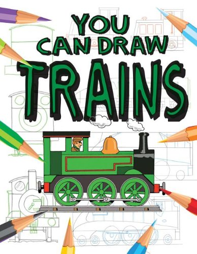 9781433974786: You Can Draw Trains