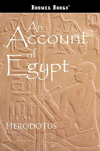 9781434100276: An Account of Egypt