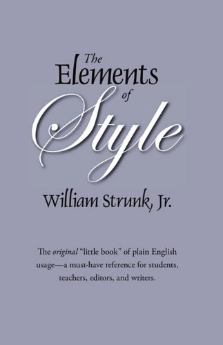 9781434102812: The Elements of Style: The Original Edition