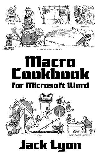9781434103321: Macro Cookbook for Microsoft Word