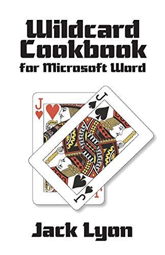9781434103987: Wildcard Cookbook for Microsoft Word