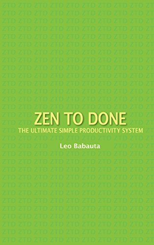 9781434121752: Zen to Done: The Ultimate Simple Productivity System