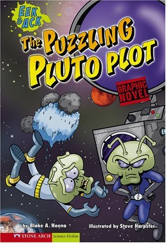 9781434205025: The Puzzling Pluto Plot: Eek & Ack (Graphic Sparks)