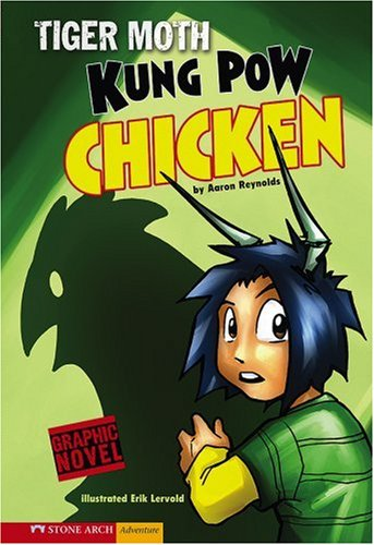 9781434205056: Kung Pow Chicken: Tiger Moth (Graphic Sparks)
