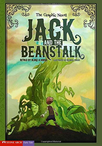 9781434208620: Jack and the Beanstalk: The Graphic Novel (Graphic Spin)