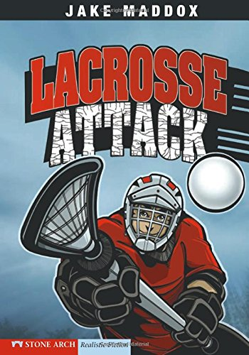 9781434208729: Lacrosse Attack (Jake Maddox Sports Stories)
