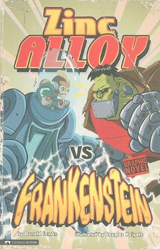 9781434213914: Zinc Alloy vs Frankenstein (Graphic Sparks)
