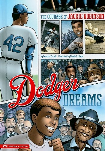 9781434215796: Dodger Dreams: The Courage of Jackie Robinson (Historical Fiction)