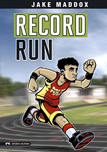 9781434215987: Record Run (Jake Maddox Sports Stories)