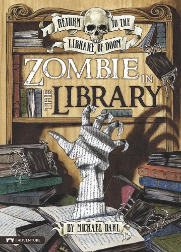 9781434221452: Zombie in the Library (Return to the Library of Doom)
