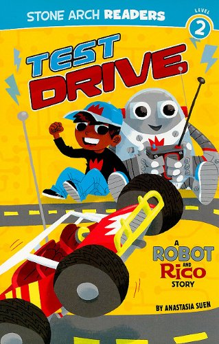 9781434223036: Test Drive: A Robot and Rico Story