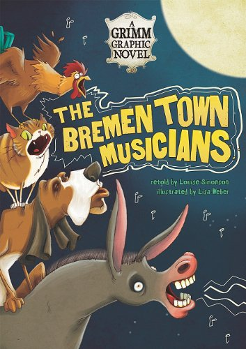 9781434225184: The Bremen Town Musicians: A Grimm Graphic Novel (Graphic Spin)