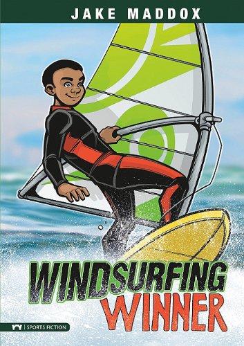 9781434225351: Windsurfing Winner (Jake Maddox Sports Stories)
