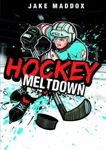 9781434229908: Hockey Meltdown (Jake Maddox Sports Stories)