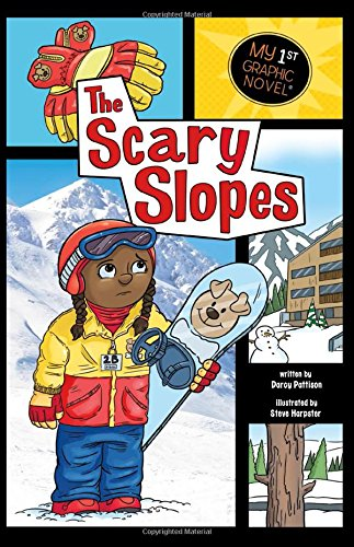 9781434230621: The Scary Slopes (My First Graphic Novel)