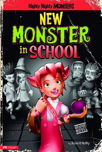 9781434234209: New Monster in School (Mighty Mighty Monsters)