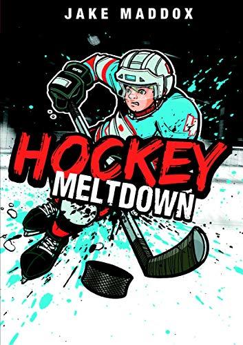 9781434234261: Hockey Meltdown (Jake Maddox Sports Stories)