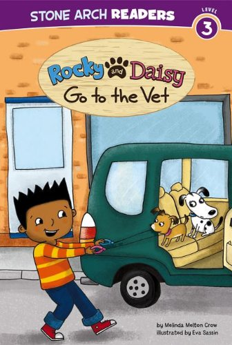 Rocky and Daisy Go to the Vet (My Two Dogs): Crow, Melinda Melton