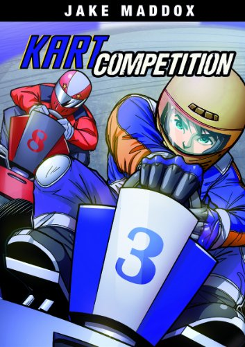 Kart Competition (Jake Maddox Girls Sports) [Paperback] [Jun 05, 2014] Maddox, Jake; Stevens, Eric;...