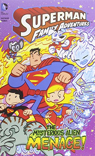 9781434264770: The Mysterious Alien Menace! (Superman Family Adventures)