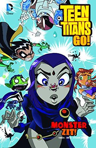 9781434292131: Monster Zit! (Teen Titans GO!)
