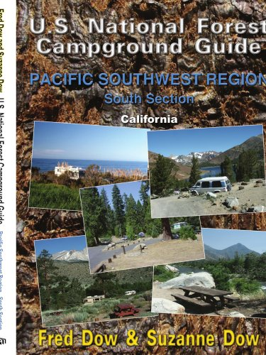 9781434371546: U.S. National Forest Campground Guide: Pacific Southwest Region - South Section