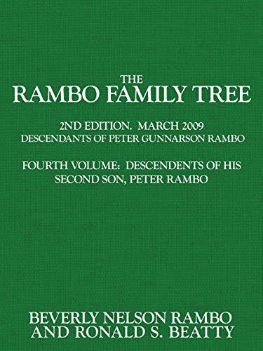 Rambo Family Tree, Volume 4: Ronald S. Beatty