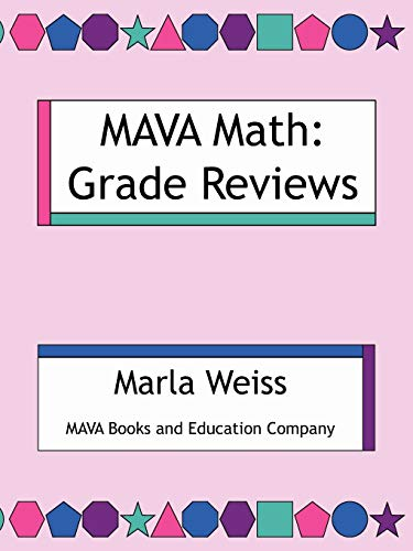 9781434375841: MAVA Math: Grade Reviews