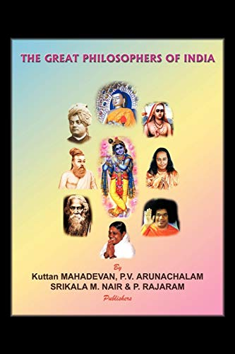 9781434377807: The Great Philosophers of India