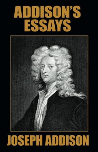 9781434404817: Addison's Essays
