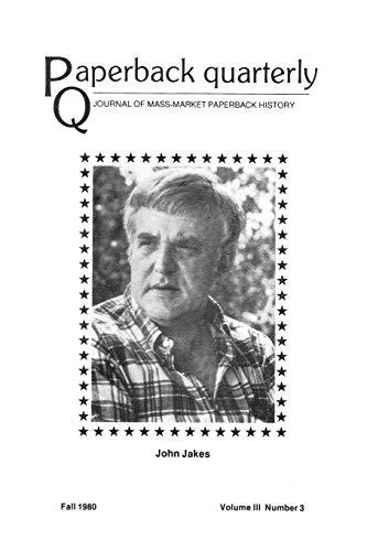 Paperback Quarterly (Vol. 3 No. 3) Fall: Billy C. Lee