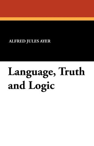 Language, Truth and Logic (143442975X) by Ayer, Alfred Jules