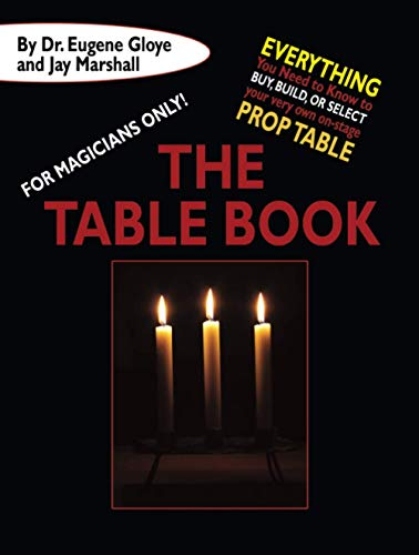 For Magicians Only: The Table Book (Paperback): Eugene Gloye