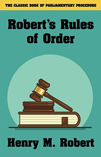 Robert's Rules of Order (143447545X) by Robert, Henry M. III