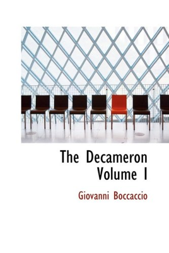 9781434603845: The Decameron Volume I