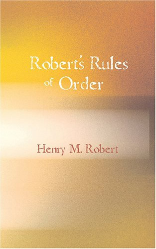9781434604842: Robert's Rules of Order: Pocket Manual of Rules Of Order For Deliberative Assemblies