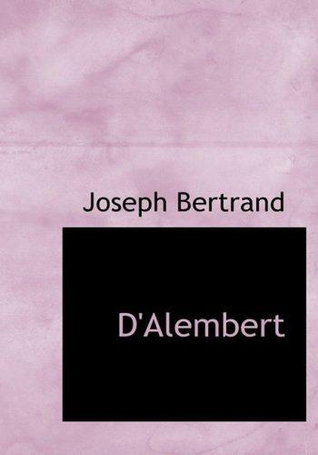 9781434633415: D'Alembert