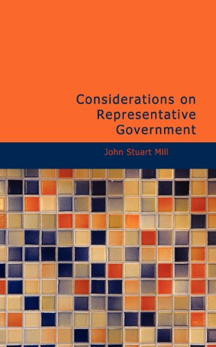 9781434651976: Considerations on Representative Government