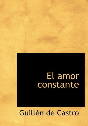9781434655288: El amor constante (Spanish Edition)