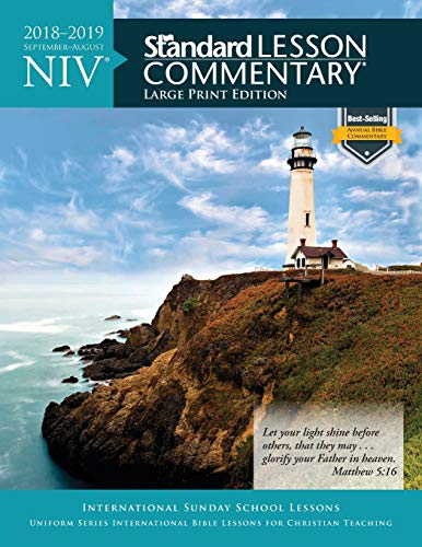 NIV Standard Lesson Commentary Large Print Edition: Standard Publishing