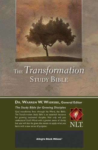 The Transformation Study Bible--Allegro Black Milano: Wiersbe, Warren W.