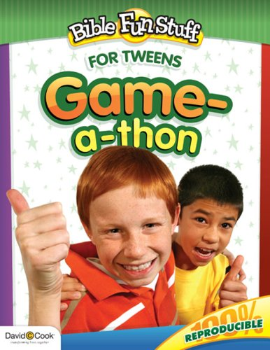 Game-a-Thon (Bible Funstuff) (1434768570) by David C Cook
