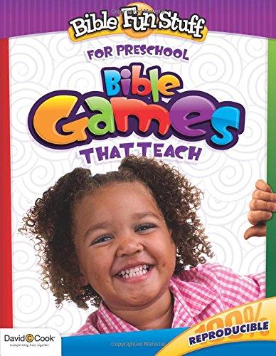 9781434768636: Bible Games That Teach (Bible Fun Stuff for Preschool): Bible Games That Teach (Bible Fun Stuff for Preschool)