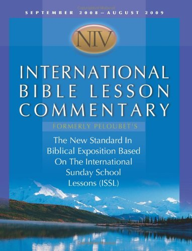 9781434799746 Niv International Bible Lesson Commentary The New