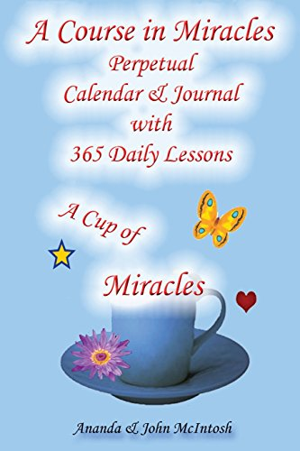9781434823076: A Course in Miracles: Perpetual Calendar and Notebook