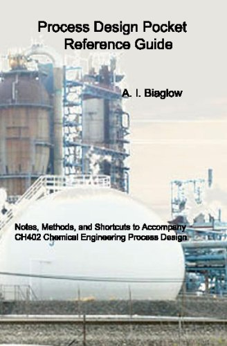 9781434839305: Process Design Pocket Reference Guide: Lecture Notes To Accompany Process Design And Economics For Chemical Engineers, 4Th Edition