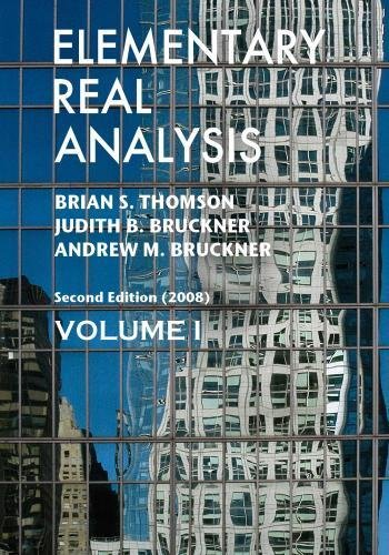 9781434841612: 1: Elementary Real Analysis: Second Edition. [Part One]